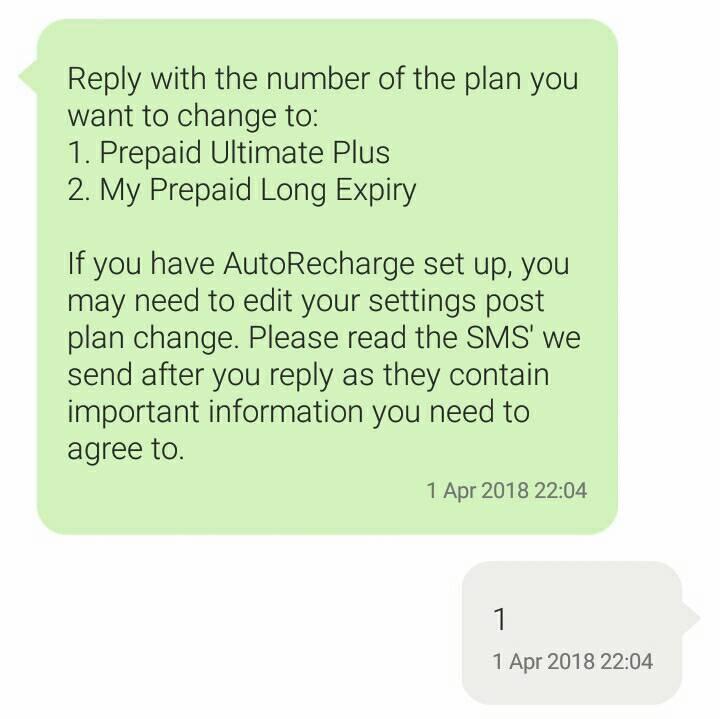 how to change plan optus