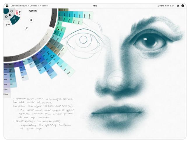 2018最新ipad Proのお絵描きイラスト有料アプリ5選おすすめ
